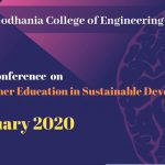 National Conference on Role of Higher Education in Sustainable Development, VRGCET Porbandar on 19th January 2020