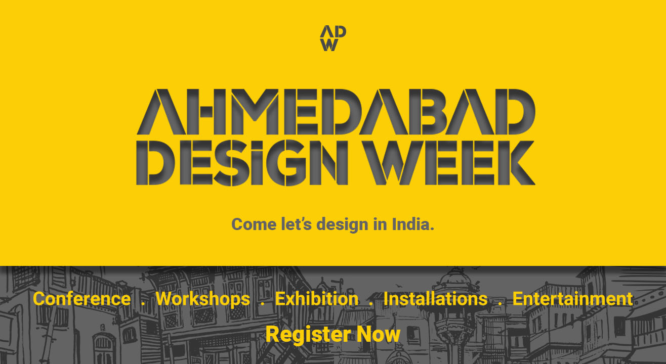 Creative Campaign for Creative Indians: Ahemdabad Design Week 2020