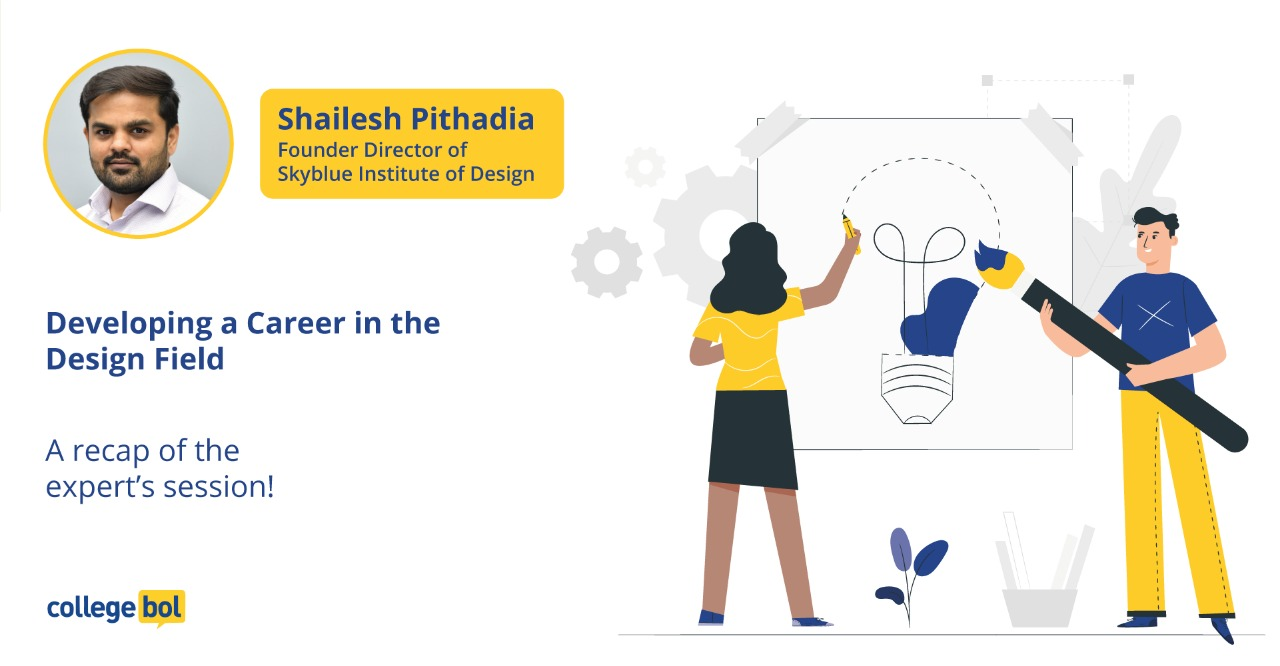 Expert session with Mr. Shailesh Pithadia on developing a career in the design field!